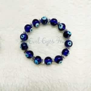 Evil Eye Bracelet With Spacers