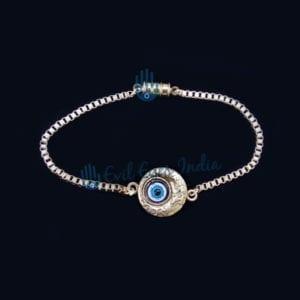 Sleek Evil Eye Bracelet