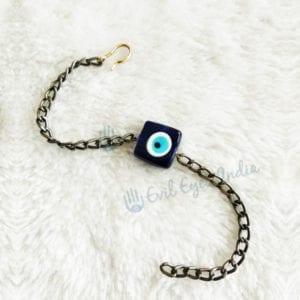 Square Bead Evil Eye Bracelet For Men