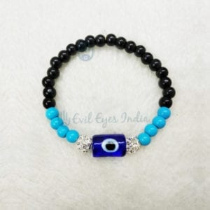 Authentic Blue Beads Evil Eye Bracelet